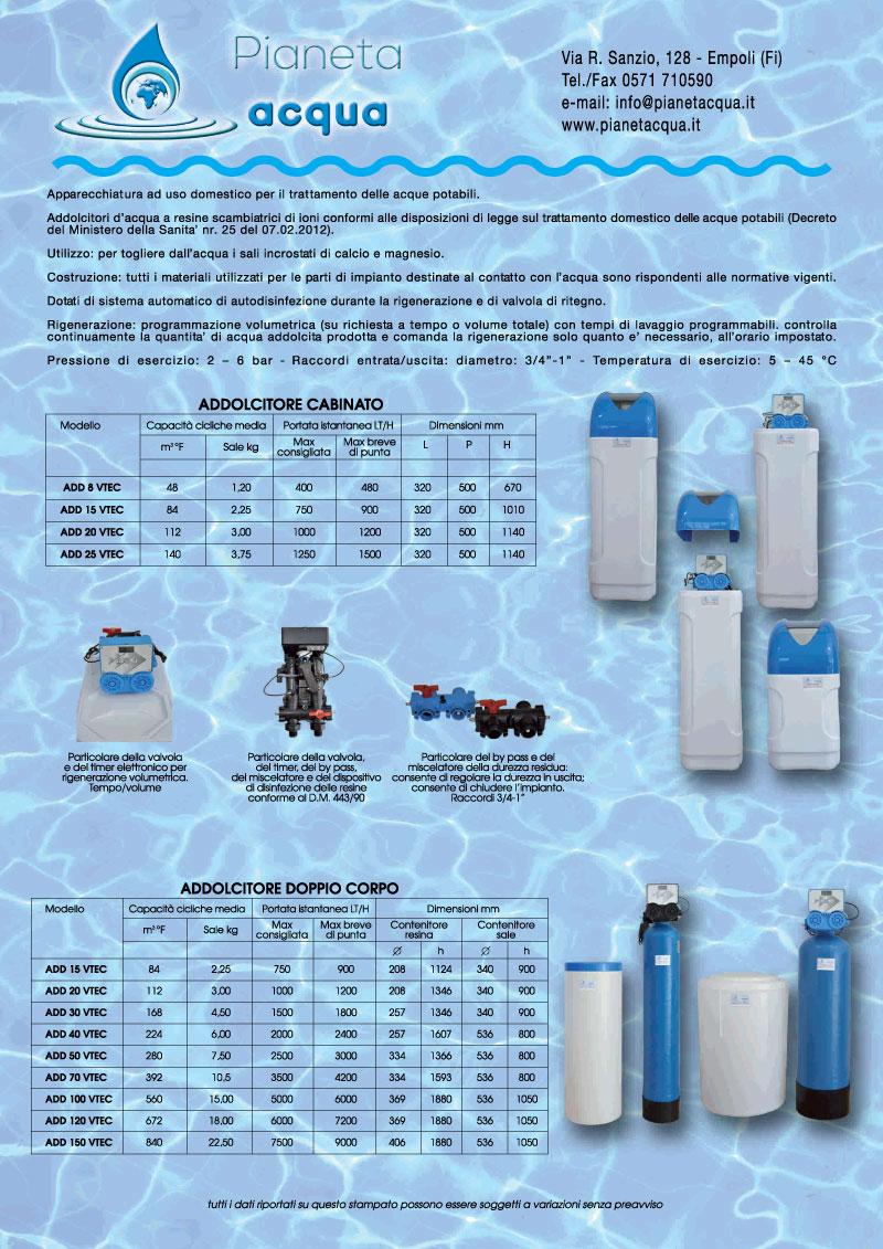 Addolcitori Empoli di Pianeta Acqua