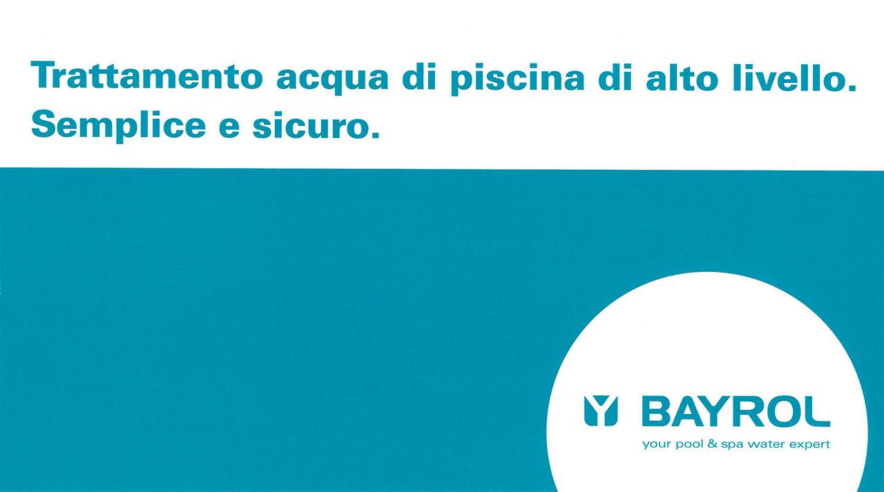 Trattamento acque per piscine. Pianeta Acqua è rivenditore Bayrol a Empoli, Firenze, Pisa, Livorno e in tutta la Toscana